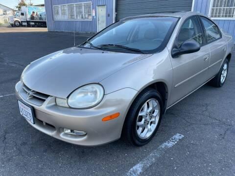 2002 Dodge Neon for sale at California Auto Deals in Sacramento CA