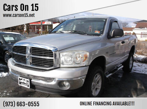 2007 Dodge Ram Pickup 1500 for sale at Cars On 15 in Lake Hopatcong NJ