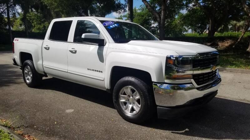 2018 Chevrolet Silverado 1500 for sale at DELRAY AUTO MALL in Delray Beach FL