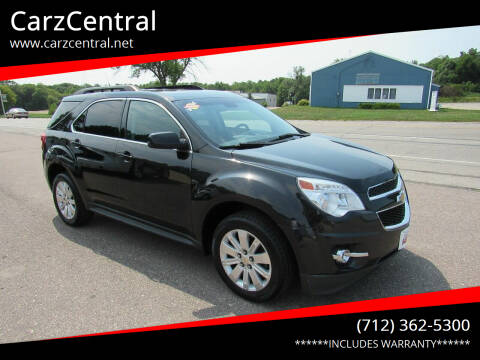 2012 Chevrolet Equinox for sale at CarzCentral in Estherville IA