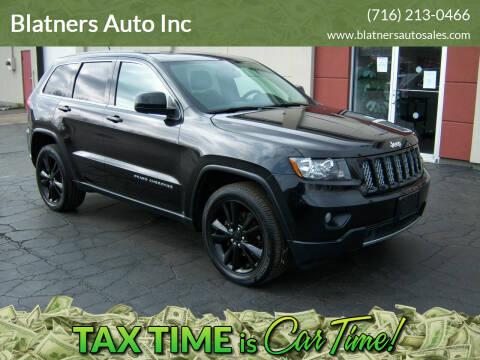 2013 Jeep Grand Cherokee for sale at Blatners Auto Inc in North Tonawanda NY