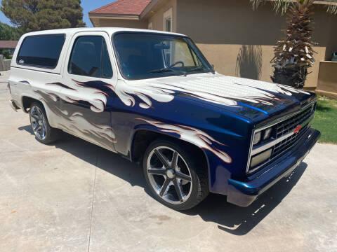 1982 Chevrolet Blazer for sale at Gabes Auto Sales in Odessa TX