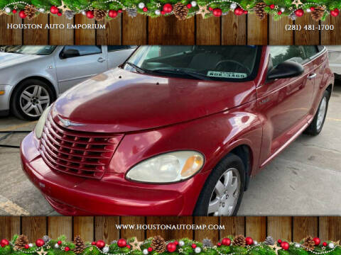 2005 Chrysler PT Cruiser for sale at Houston Auto Emporium in Houston TX
