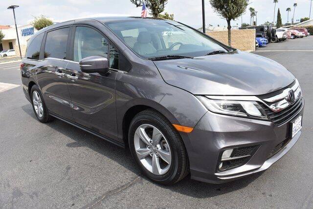 2020 Honda Odyssey for sale at DIAMOND VALLEY HONDA in Hemet CA