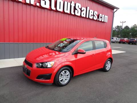 2016 Chevrolet Sonic for sale at Stout Sales in Fairborn OH