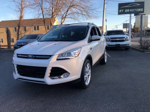 2013 Ford Escape for sale at RT28 Motors in North Reading MA