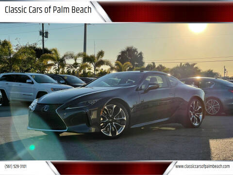 2021 Lexus LC 500 for sale at Classic Cars of Palm Beach in Jupiter FL