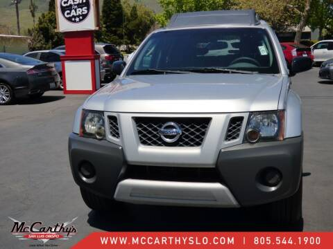 2011 Nissan Xterra for sale at McCarthy Wholesale in San Luis Obispo CA