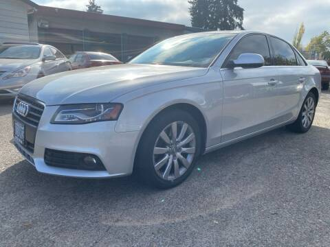 2011 Audi A4 for sale at Universal Auto INC in Salem OR