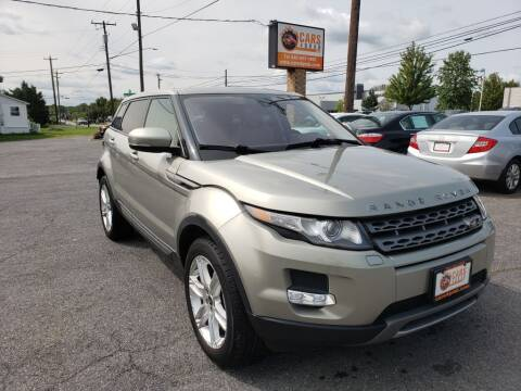 2013 Land Rover Range Rover Evoque for sale at Cars 4 Grab in Winchester VA