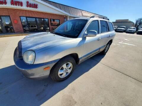 2005 Hyundai Santa Fe for sale at Eden's Auto Sales in Valley Center KS