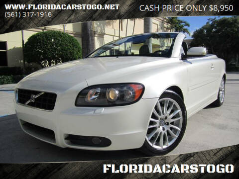 2007 Volvo C70 for sale at FLORIDACARSTOGO in West Palm Beach FL