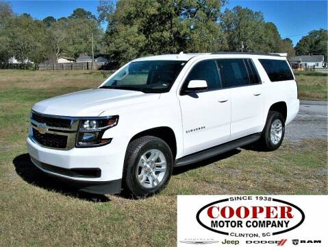 2020 Chevrolet Suburban for sale at Cooper Motor Company in Clinton SC