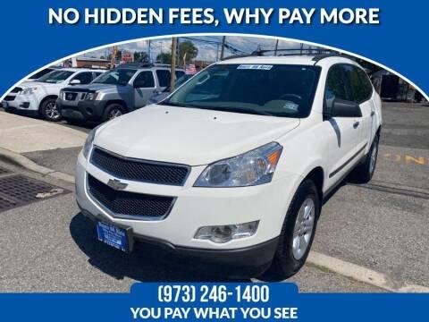 2012 Chevrolet Traverse for sale at Route 46 Auto Sales Inc in Lodi NJ