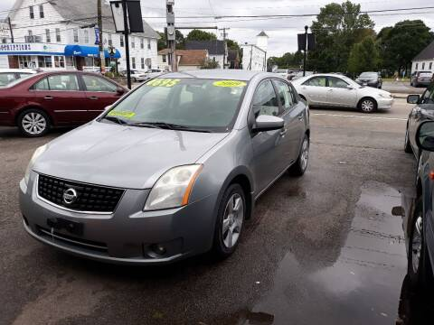 2009 Nissan Sentra for sale at TC Auto Repair and Sales Inc in Abington MA
