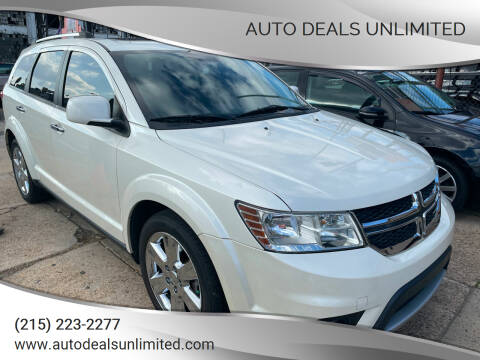 2012 Dodge Journey for sale at AUTO DEALS UNLIMITED in Philadelphia PA