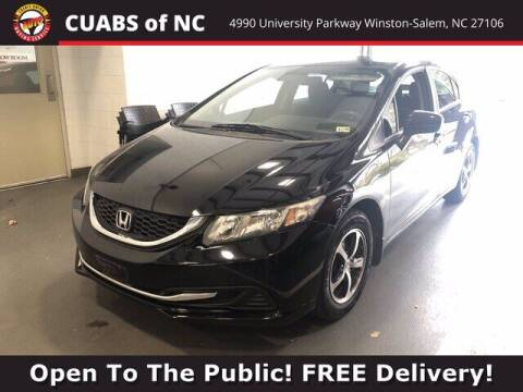 2015 Honda Civic for sale at Summit Credit Union Auto Buying Service in Winston Salem NC