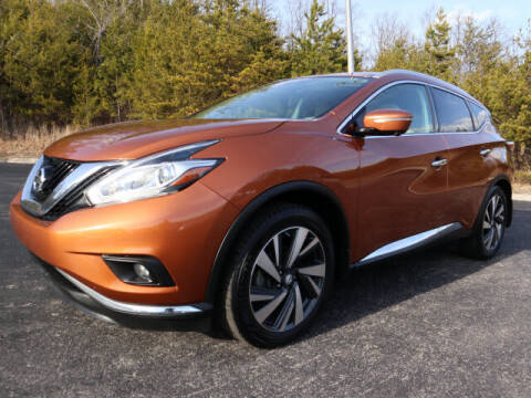2015 Nissan Murano for sale at RUSTY WALLACE KIA OF KNOXVILLE in Knoxville TN