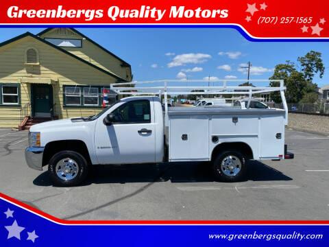 2008 Chevrolet Silverado 2500HD for sale at Greenbergs Quality Motors in Napa CA
