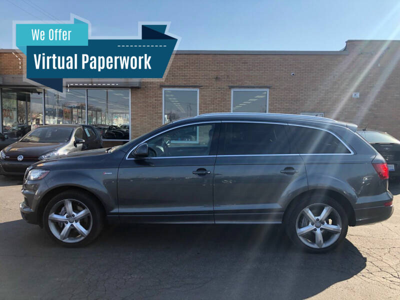 2011 Audi Q7 for sale at Auto Sport INC in Grand Rapids MI