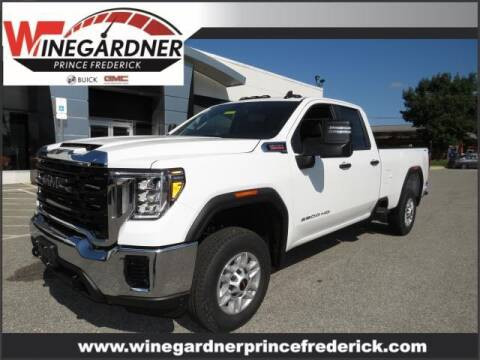 2021 GMC Sierra 2500HD for sale at Winegardner Auto Sales in Prince Frederick MD