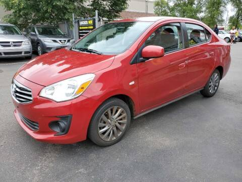 2019 Mitsubishi Mirage G4 for sale at MIDWEST CAR SEARCH in Fridley MN