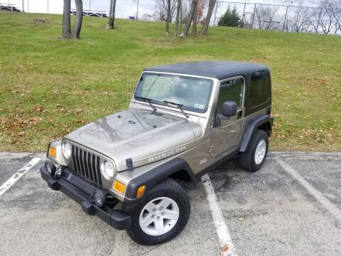2004 Jeep Wrangler for sale at FAYAD AUTOMOTIVE GROUP in Pittsburgh PA