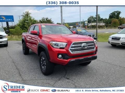 2017 Toyota Tacoma for sale at STRIDER BUICK GMC SUBARU in Asheboro NC