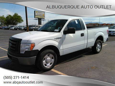 2009 Ford F-150 for sale at ALBUQUERQUE AUTO OUTLET in Albuquerque NM