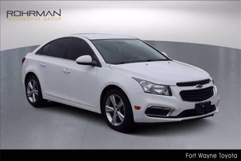 2015 Chevrolet Cruze for sale at BOB ROHRMAN FORT WAYNE TOYOTA in Fort Wayne IN