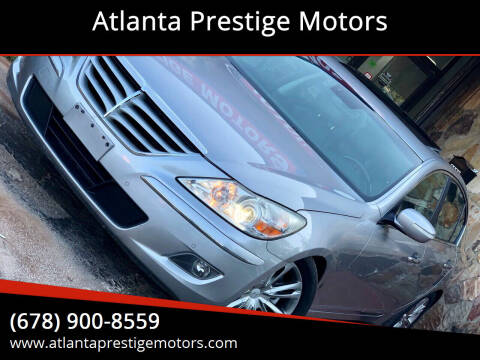 2011 Hyundai Genesis for sale at Atlanta Prestige Motors in Decatur GA