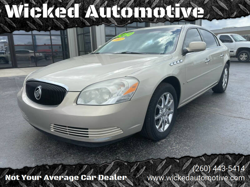 2007 Buick Lucerne for sale at Wicked Automotive in Fort Wayne IN