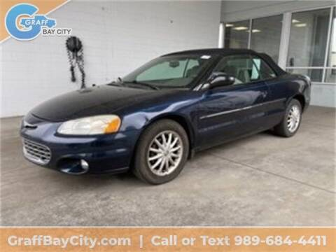 2002 Chrysler Sebring for sale at GRAFF CHEVROLET BAY CITY in Bay City MI