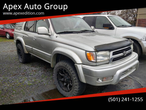2000 Toyota 4Runner for sale at Apex Auto Group in Cabot AR