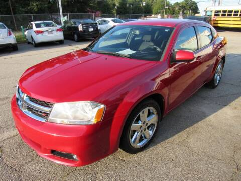 2013 Dodge Avenger for sale at King of Auto in Stone Mountain GA