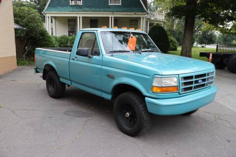 1995 Ford F-150 for sale at FENTON AUTO SALES in Westfield MA