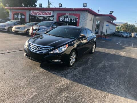 2013 Hyundai Sonata for sale at CARSTRADA in Hollywood FL