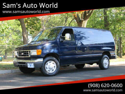 2007 Ford E-Series Cargo for sale at Sam's Auto World in Roselle NJ