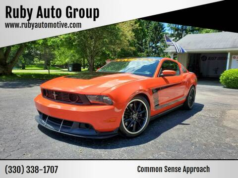 2012 Ford Mustang for sale at Ruby Auto Group in Hudson OH