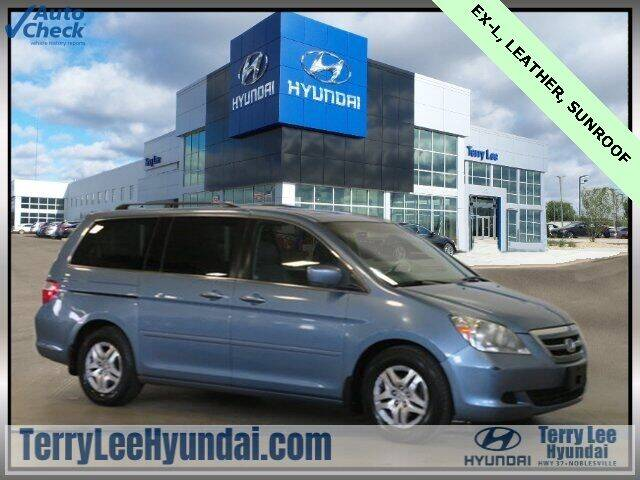 2007 Honda Odyssey for sale at Terry Lee Hyundai in Noblesville IN