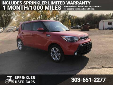 2016 Kia Soul for sale at Sprinkler Used Cars in Longmont CO