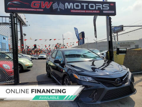 2020 Toyota Camry for sale at GW MOTORS in Newark NJ