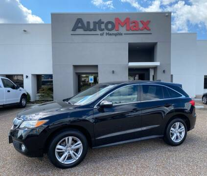2013 Acura RDX for sale at AutoMax of Memphis in Memphis TN