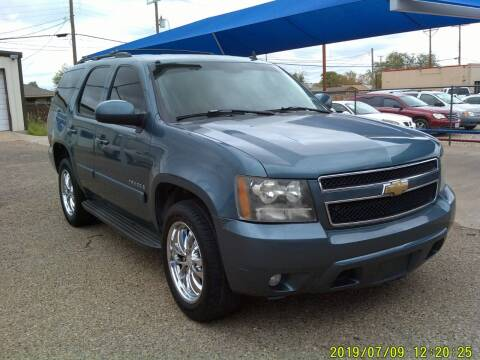 2008 Chevrolet Tahoe for sale at Chuck Spaugh Auto Sales in Lubbock TX