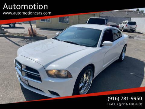 2013 Dodge Charger for sale at Automotion in Roseville CA