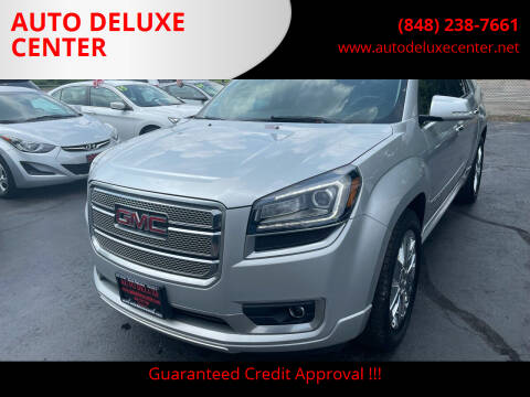 2013 GMC Acadia for sale at AUTO DELUXE CENTER in Toms River NJ