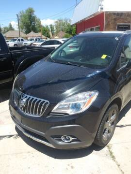 2014 Buick Encore for sale at PYRAMID MOTORS AUTO SALES in Florence CO