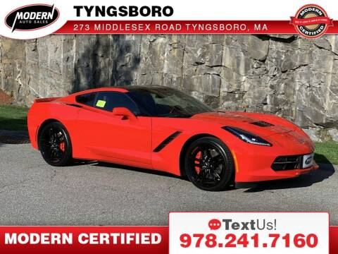 2014 Chevrolet Corvette for sale at Modern Auto Sales in Tyngsboro MA