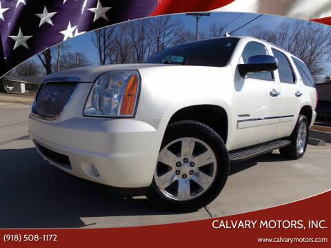 2012 GMC Yukon for sale at Calvary Motors, Inc. in Bixby OK