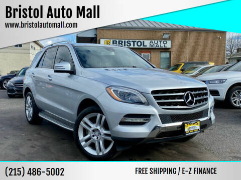 2013 Mercedes-Benz M-Class for sale at Bristol Auto Mall in Levittown PA
